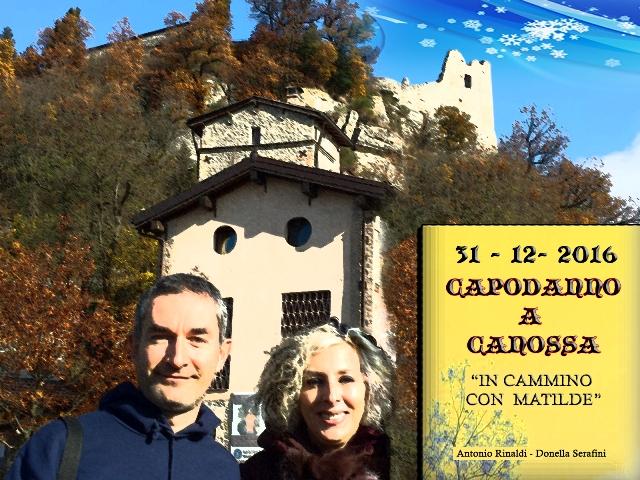 Donella Eventi - Capodanno a canossa - In cammino con Matilde